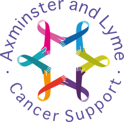 Axminster and Lyme Cancer Support circle logo
