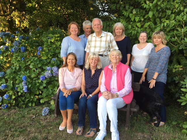 Meet the Axminster and Lyme Cancer Support team