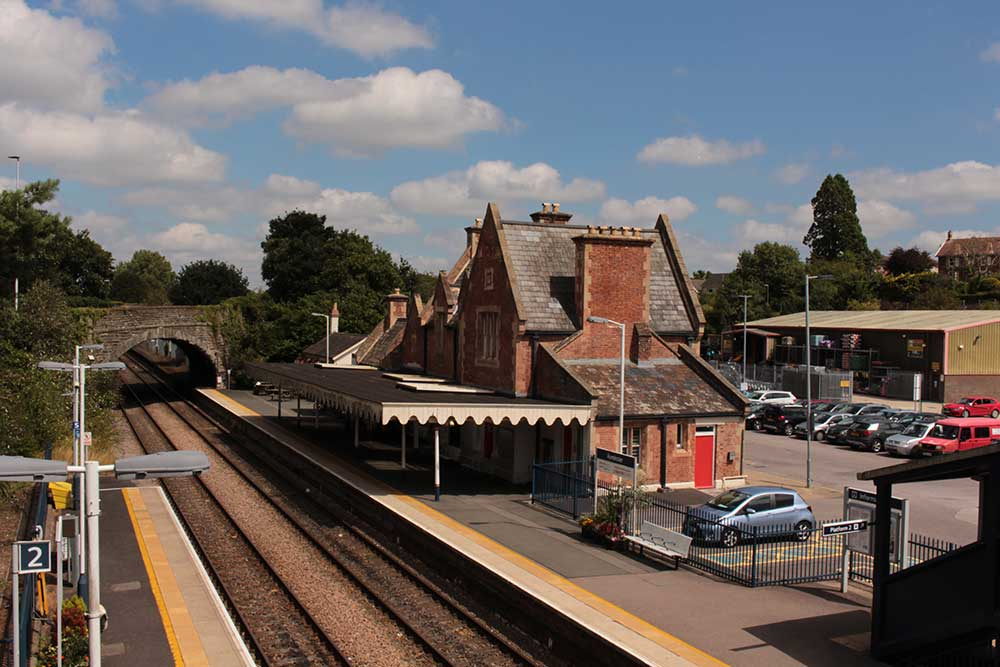 Axminster train station