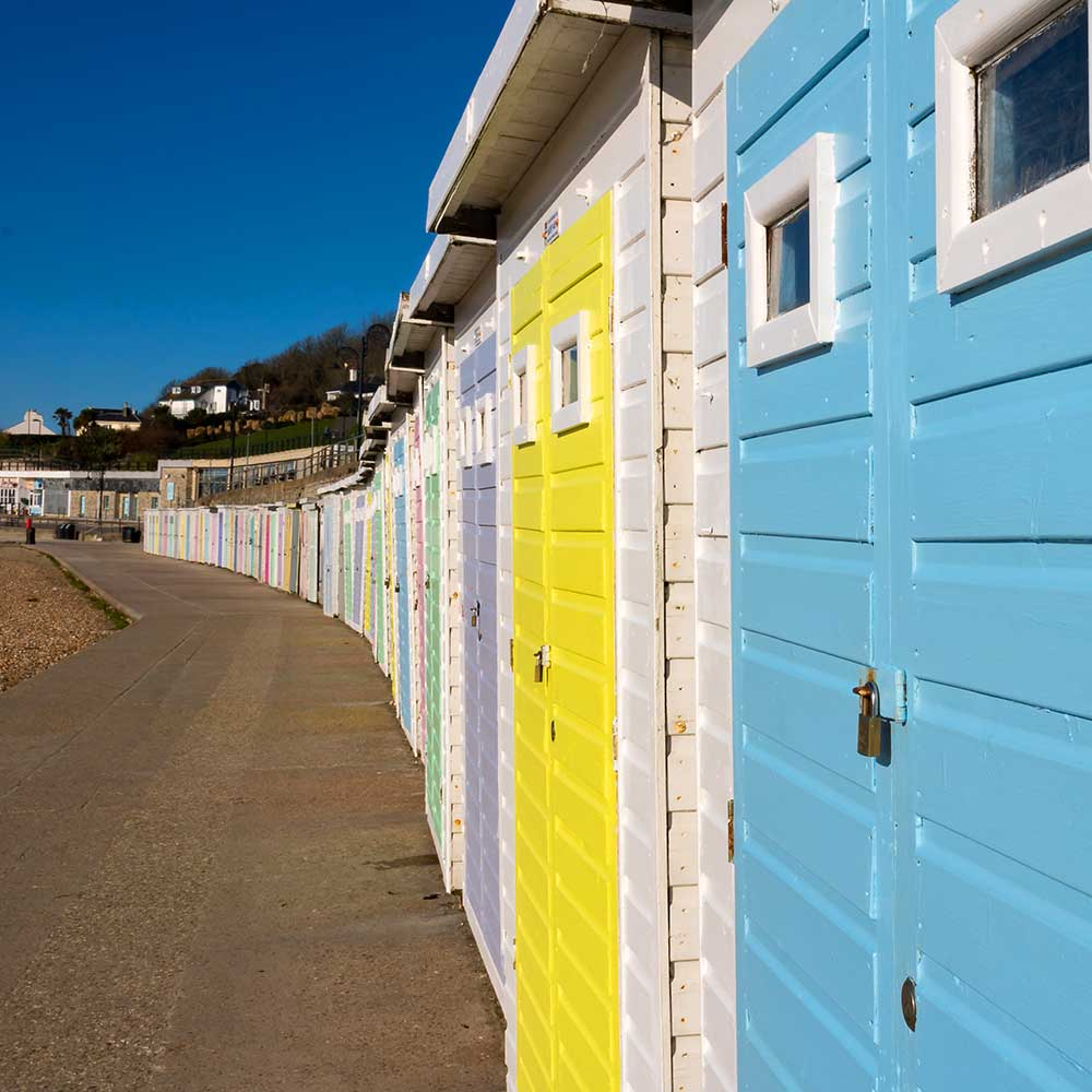 Axminster and Lyme Cancer Support beach hut