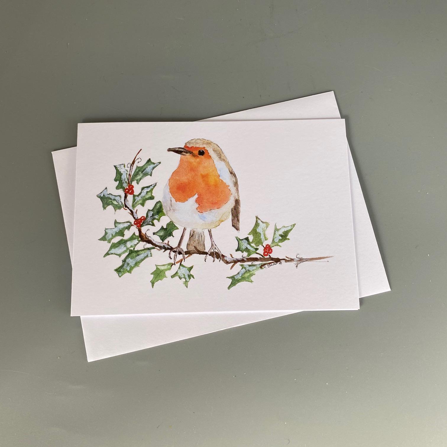 Festive Robin Card
