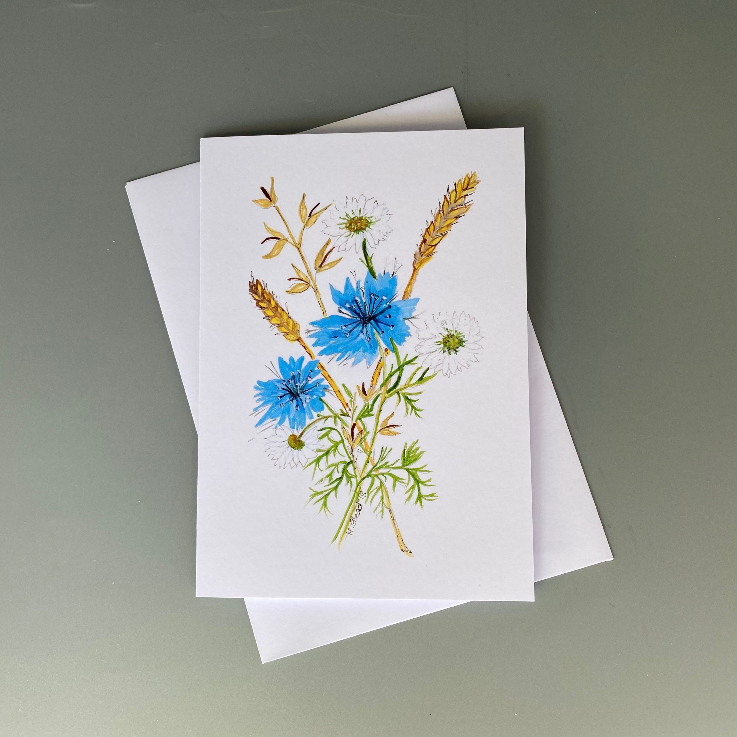 Cornflower Card