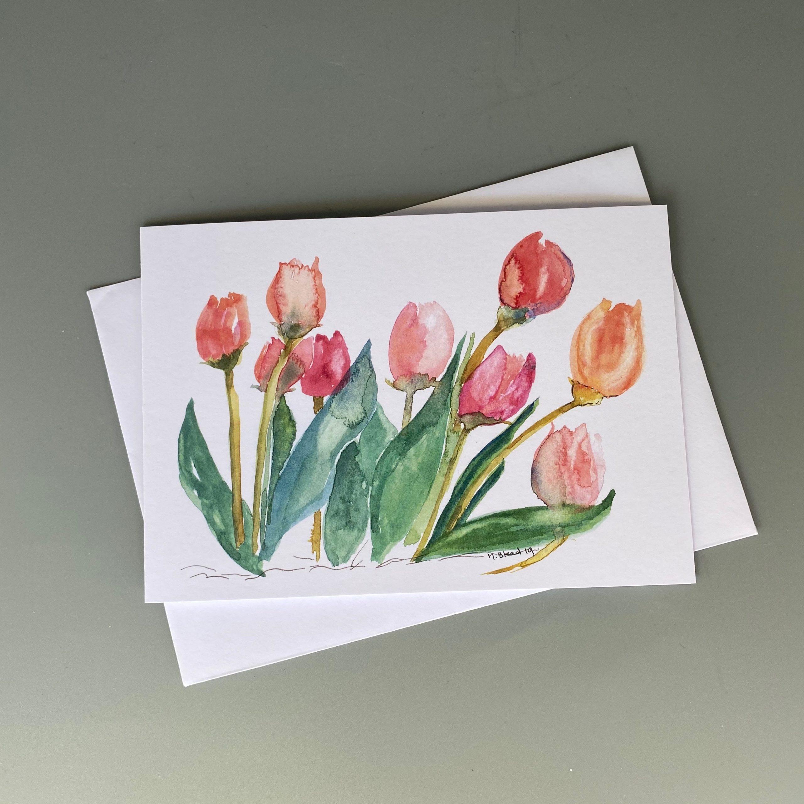 Tulips Card