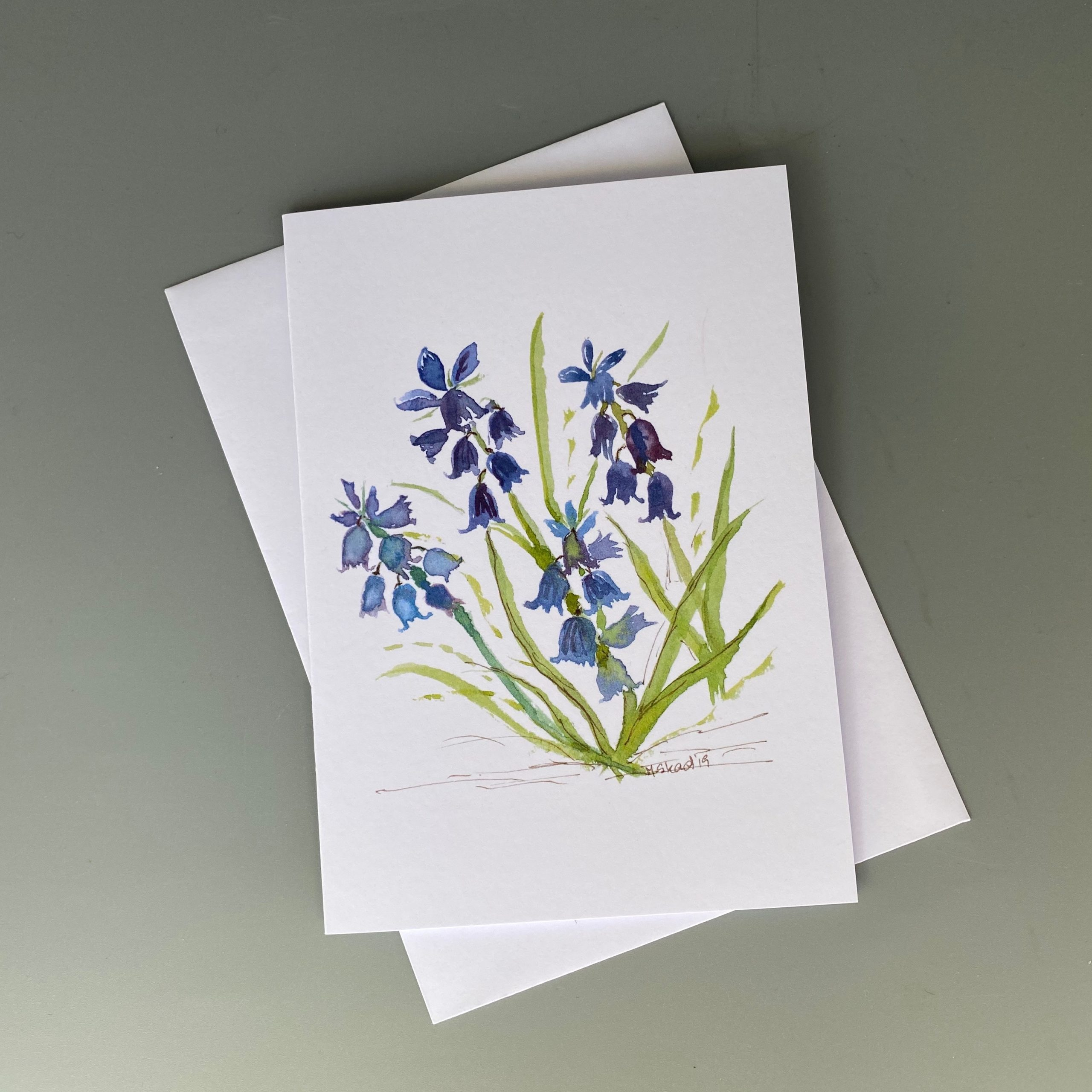 Bluebells Card
