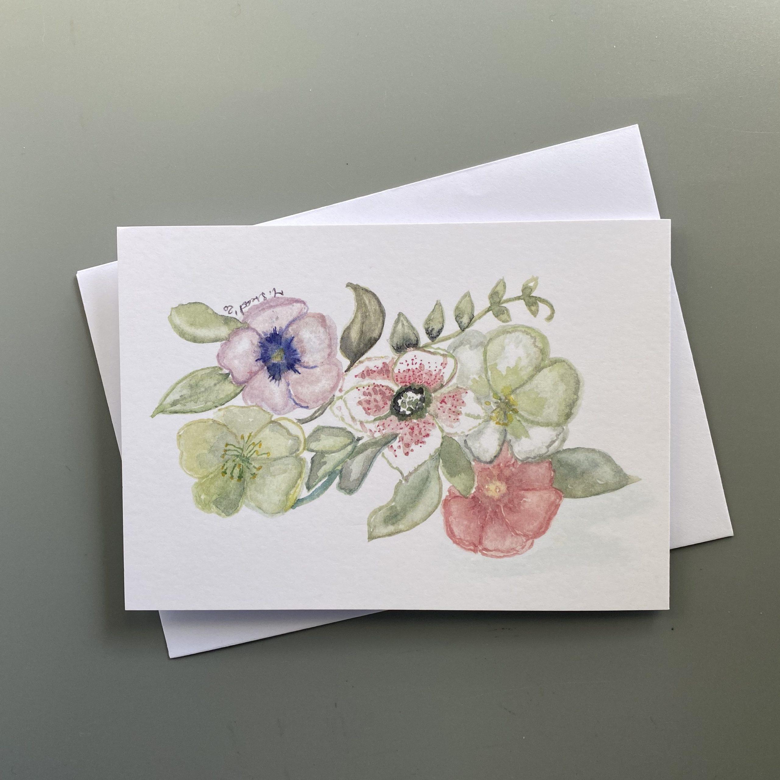 Hellebores Card