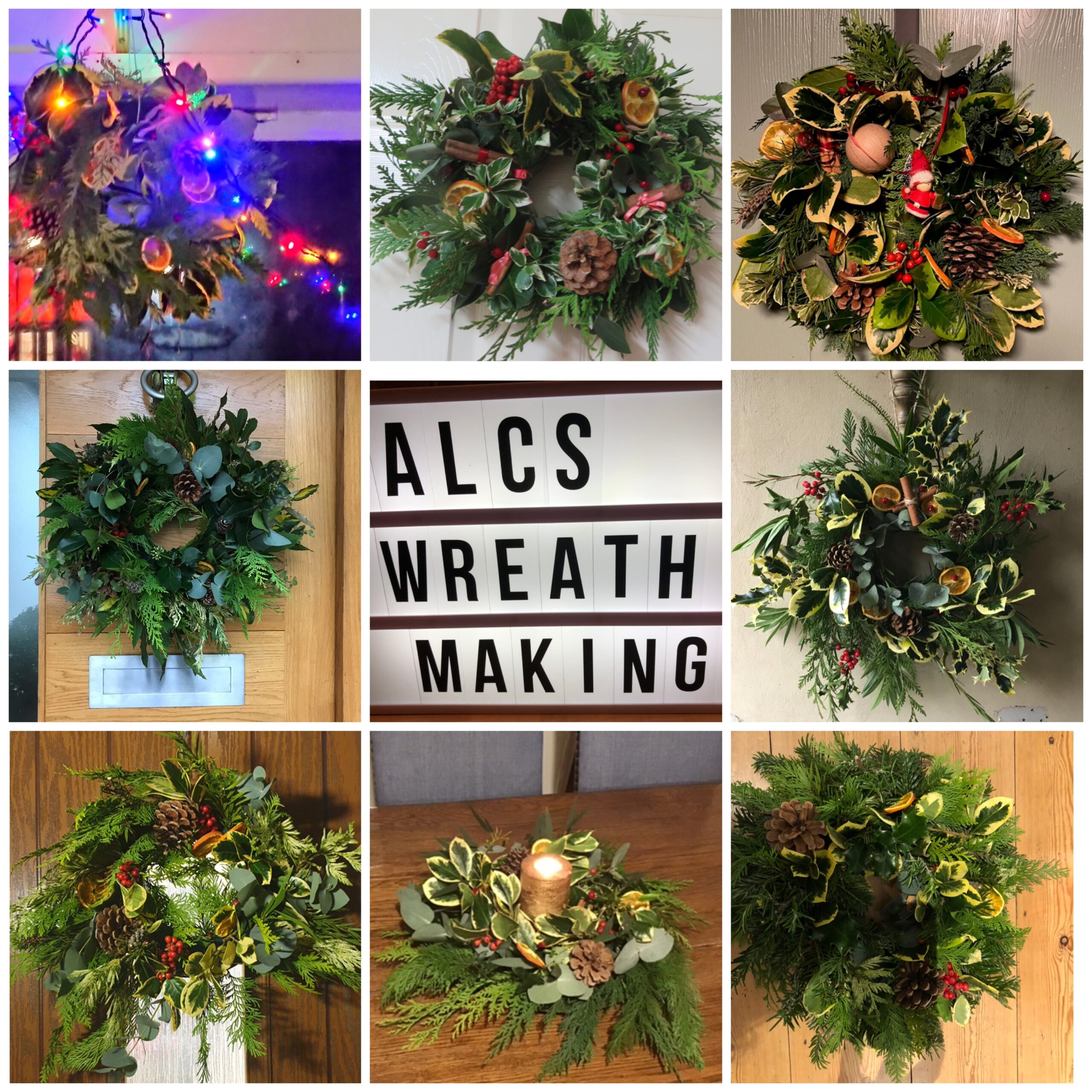 Christmas Wreath Workshop – 13th December Axminster