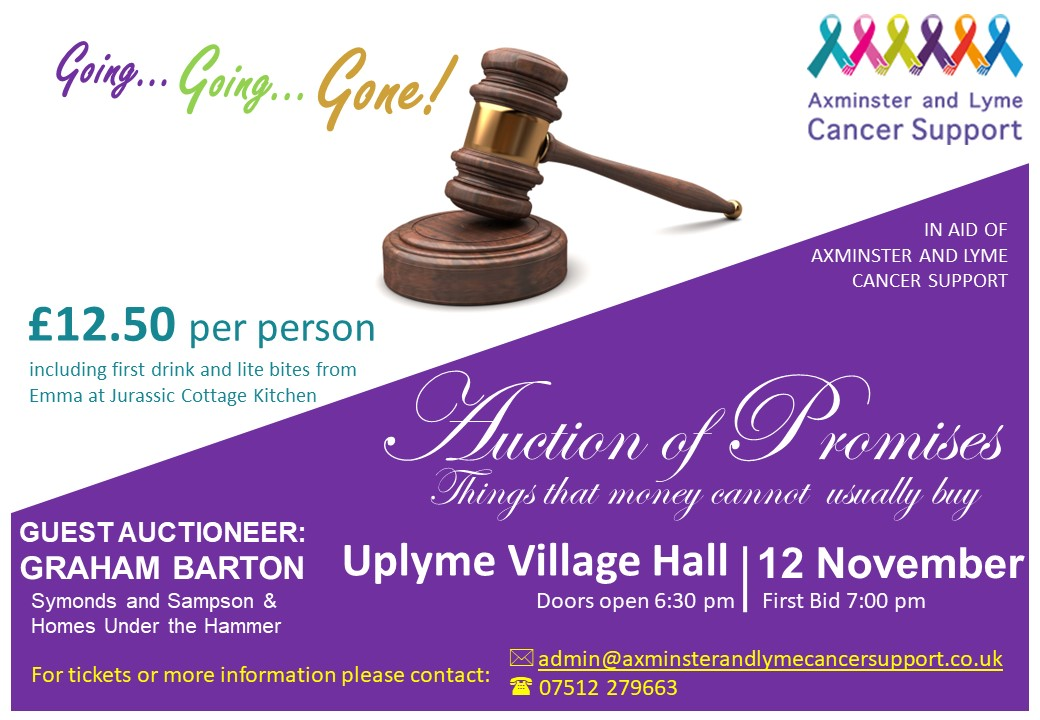 ALCS Auction Of Promises – 12th November